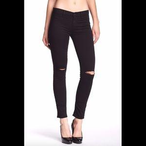 NEW J Brand Mid Rise Skinny Jean Black [SZ 26]